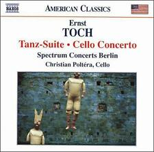 Tanz-Suite and Cello Concerto, New Music