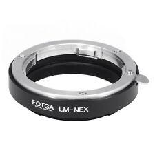 Leica M LM lens To Sony E NEX Adapter Ring NEX7 NEX6 NEX5 NEX3 A6000 A3000 A7 II