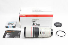 Canon EF 300mm f/4 L IS USM Lens EOS DIGITAL SUPER SHARP + BONUS 77mm FILTER