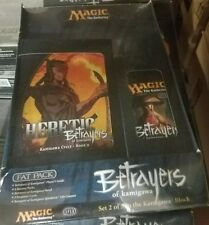 MTG Betrayers Of Kamigawa Magic The Gathering Sealed Fat Pack Booster packs +