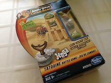 Angry Birds Star Wars Jenga Tatooine Battle Game! Luke Skywalker NEW! Free Ship!