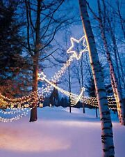 Christmas Decoration Shooting Star Holiday Light with 98 Bulbs. NEW!!!