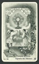 Estampa antigua del Caliz andachtsbild santino holy card santini