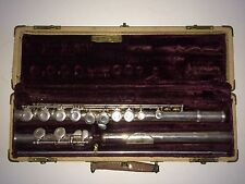W.T. Armstrong Flute - SN 57952 Elkhart, IN w/ Case Vintage Student Complete