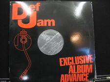 DMX Flesh Of My Flesh Blood Of My Blood Def Jam Recordings 309-1 PROMO