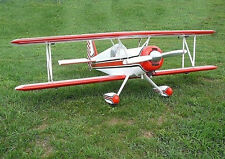 Super Aeromaster Aerobatic Sport Biplane  Plans, Templates and Instructions