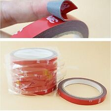 High Quality 3M Car Auto Double Foam Faced Adhesive Sticker Tape 12mm x10 Meter