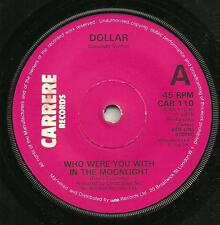 DOLLAR - WHO WERE YOU WITH IN THE MOONLIGHT - ORIGINAL 70s DISCO, ELECTRONIC POP