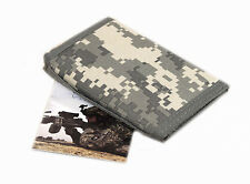 Digital ACU Army Military Digital Camo Cloth Wallet Bill Fold Men's