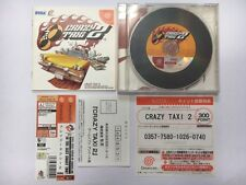 CRAZY TAXI 2 Dreamcast DC Japan JP Game w/spine D3326