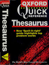 The Oxford Quick Reference Thesaurus