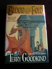 TERRY GOODKIND - BLOOD OF THE FOLD - 1st/1st (file photo)