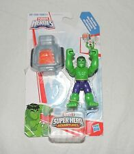 New Marvel Playskool Super Hero Adventures Hulk Smash 2 Pce Figure Tank Avengers