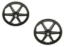 "20""  Rear & Front Bicycle Plastic BMX Wheels set"