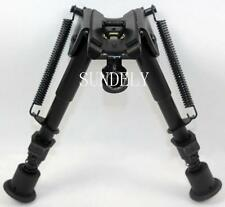"SUNDELY 6"" - 9"" Harris Style Bipod for Hunting Shooting Air Rifle Gun UK"