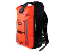 OVERBOARD Orange Pro-Vis Waterproof Backpack Rucksack Bag - 30L