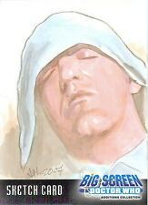 Dr Doctor Who Big Screen Additions Sketch Card by Ingrid Hardy /1
