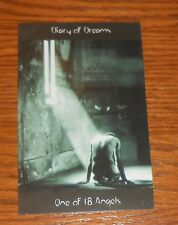 Diary of Dreams One of 18 Angels Postcard Original Promo 5.5x3.5