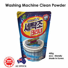 3Pack Washing Machine Laundry Cleaner Drum Powder Top Front Loader Made In KOREA