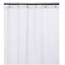 "NEW WATER REPELLANT BATHROOM SHOWER CURTAIN 70""x72"" VINYL LINER- FREE SHIPPING!!"