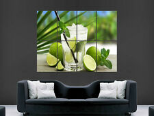 MOJITO COCKTAIL MINT LIME DRINK POSTER PICTURE WALL IMAGE  ART PRINT LARGE