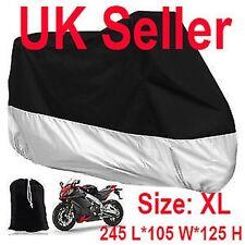 Motorrad Wasserfest Draußen Belüftet Motorrad Roller Staub Regenschutz groß XL