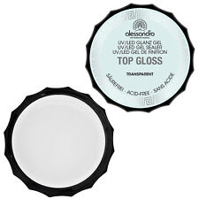 alessandro TOP GLOSS Gel Transparent 3 x 15 gr  inkl. MwSt. -SONDERAKTION-