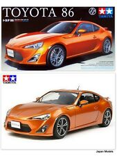 TOYOTA GT86 GT 86 Sports Car Series Tamiya 24323 1/24 Model Kit Nuovo New