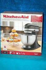 KitchenAid K45SS Classic 4.5 quart tilt-head stand mixer Onyx Black FACTORY SEAL