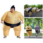 Adult Inflatable Blow Up SUMO Wrestler Suits Fancy Dress Costume Mens Party