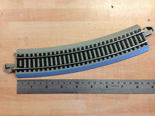 Bachmann E-Z Track Snap Fit 22.5'  Grey Double Curve Track 4th Radius 1st Post