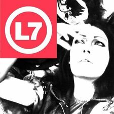 L7 THE BEAUTY PROCESS CD 1997 SLASH GRUNGE ROCK PUNK METAL SPARKS GARDNER PLAKAS