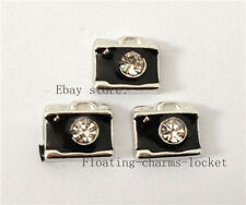 10pcs Camera Floating charms For Memory Locket free shipping FC229