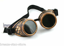 COPPER CYBER GOGGLES STEAMPUNK WELDING GOTH League of Legends LOL Ezreal COSPLAY
