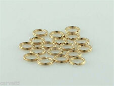 6mm Gold-Filled Split Rings (10) Great for Charms!