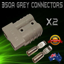 350 AMP 2 x PREMIUM ANDERSON STYLE PLUG CONNECTOR/JOINER 350a