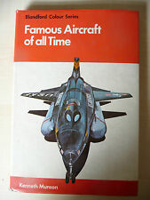 FAMOUS AIRCRAFT OF ALL TIME - KENNETH MUNSON - 1976 - A8