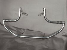KAWASAKI VN 2000 VULCAN STAINLESS STEEL CUSTOM CRASH BAR ENGINE GUARD WITH PEGS