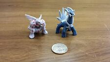 Pokemon 1.5~2inches plastic figure set legendary of Dialga Palkia ship in U.S