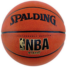 "New Spalding NBA Street Basketball Official Size 7 (29.5"") Durable Ball ShipFree"
