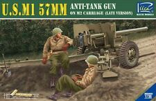 Riich Models 1/35 U.S.M1 57mm Anti-Tank Gun on M2 Carriage (Late Version) # 3502