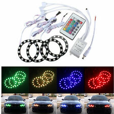 4x 5050 RGB LED Angel Eyes Halo Rings Kit Light Bulb for BMW E36 E39 E46 M3 E38