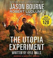 THE UTOPIA EXPERIMENT (Jason Bourne) unabridged audio book on CD by KYLE MILLS