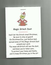 NEW Magic Grinch Dust Novelty Gag Gift Save Christmas Eve Tradition Kid Activity