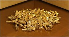 80x Gold Split Rim Bolts M7 x 30mm BBS BMW Style 5 RC RT 12.9 High Tensile Steel