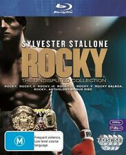 Rocky - The Undisputed Collection (Blu-ray, 7-Disc Set) NEW