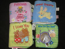 TAGGIES Developmental Baby Sensory Soft Baby Books Huge XMAS Toy Lot