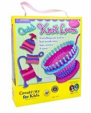 Creativity for Kids Quick Knit Loom Arts Crafts Gift Crochet Sewing Kit Set Toy