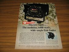 1973 Print Ad Garcia Electro-Sonic Wide Angle Fish Finders Teaneck,NJ