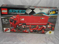 Lego Speed Champions 75913 F14 T and Scuderia Truck Ferrari scooter NEW SEALED